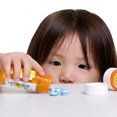 Kinder EHBO vergiftiging